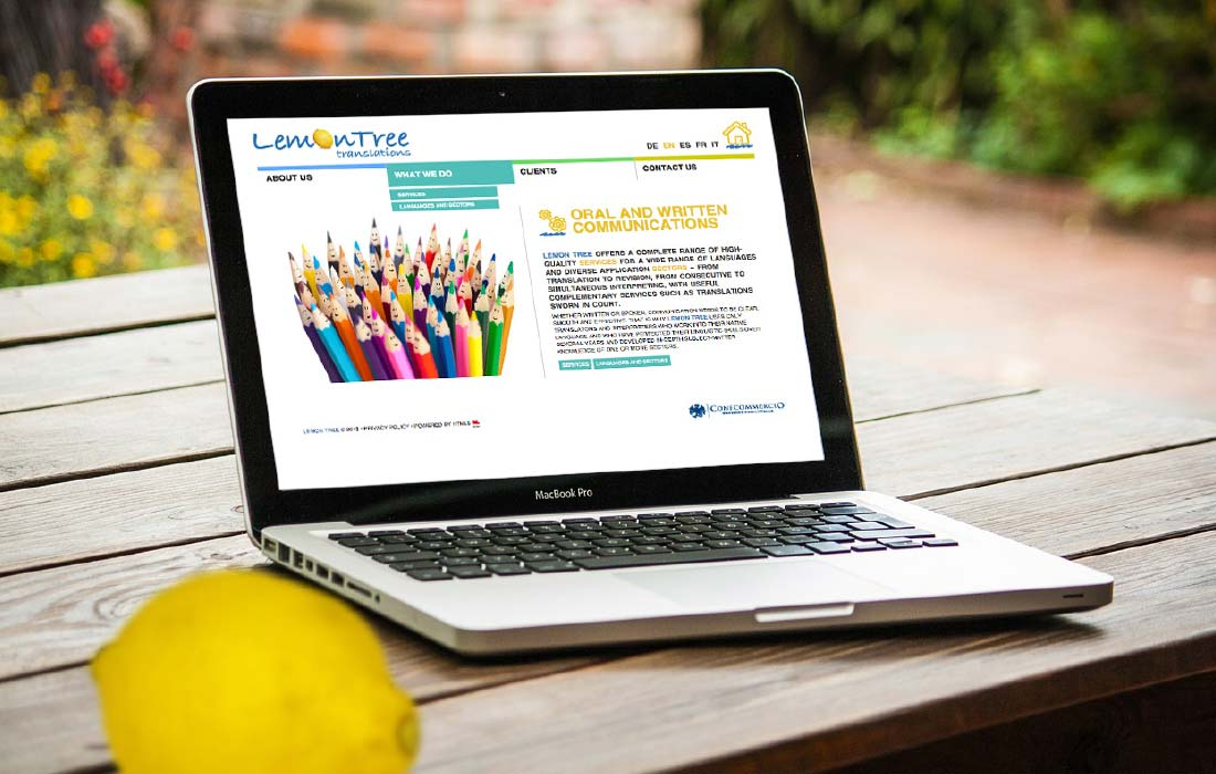 Sito Web Lemontree