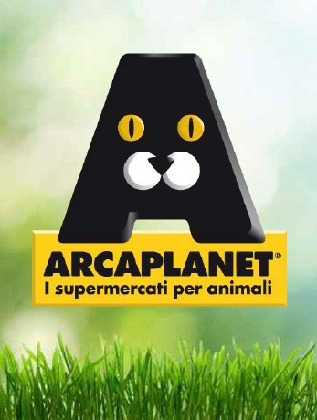 Marchio Arcaplanet Supermercati per animali