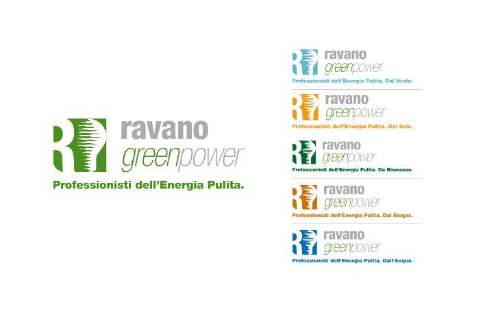 Logo Design Ravano Green Power